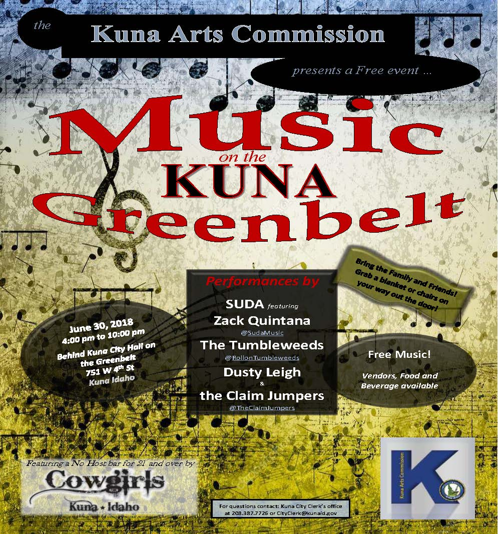 music on the kuna greenbelt