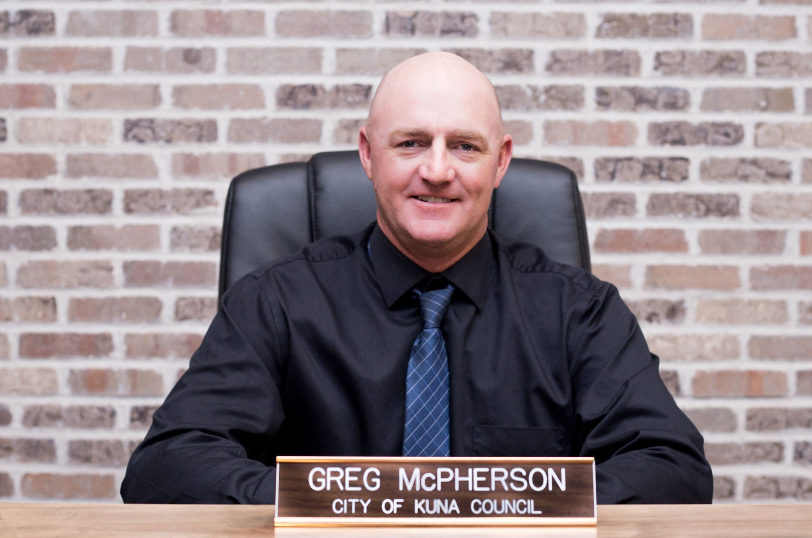 Greg McPherson Council Member 2018