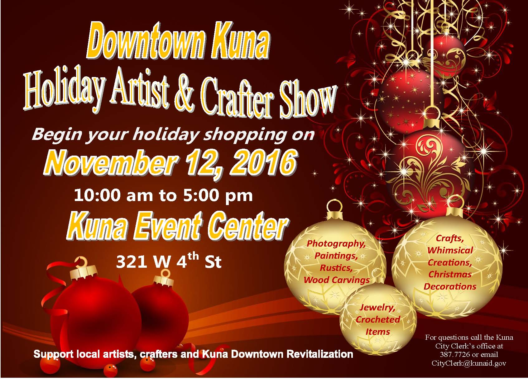 Downtown Kuna Artist and Crafter Show.jpg