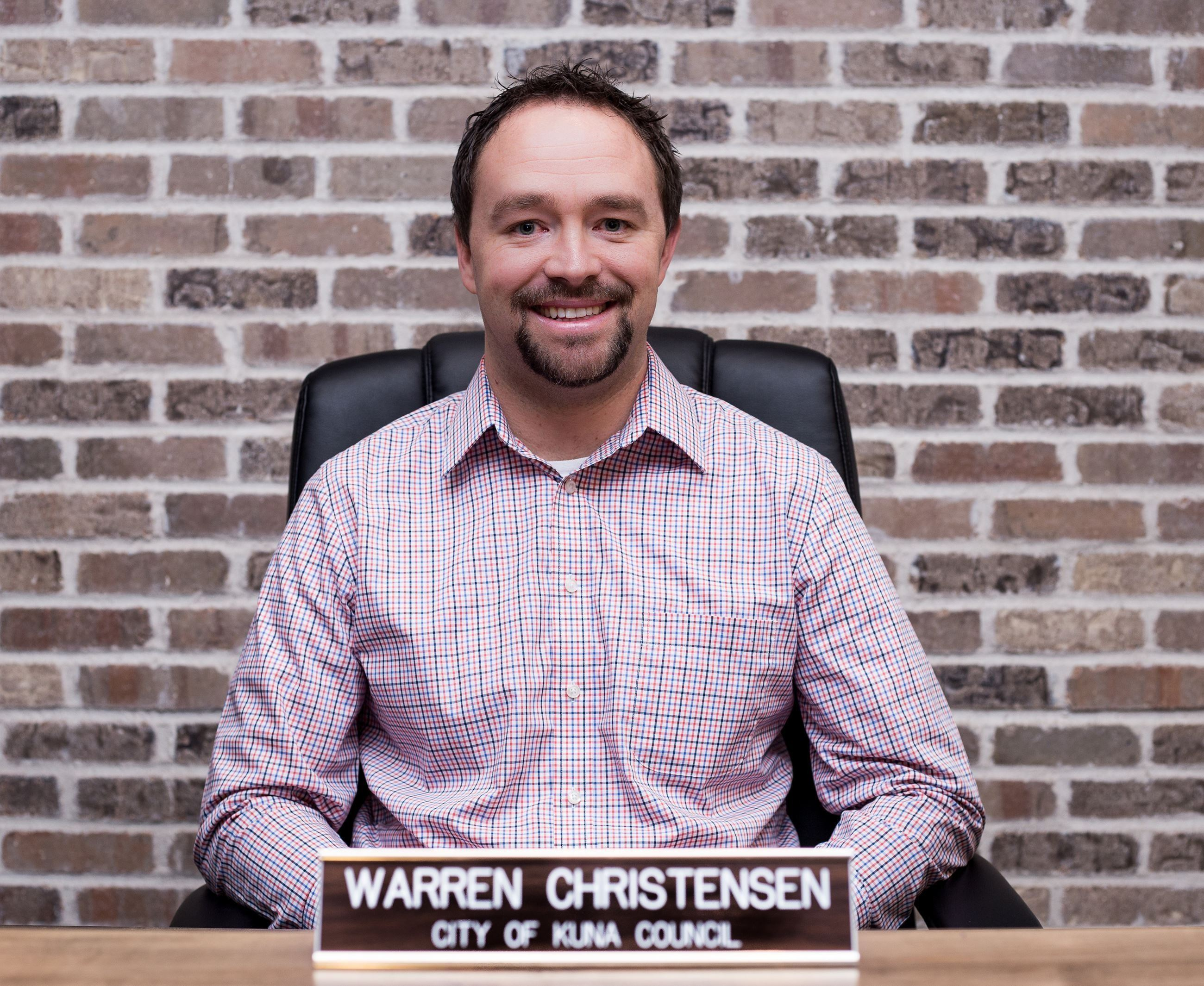 Warren Christensen Council Member 2018
