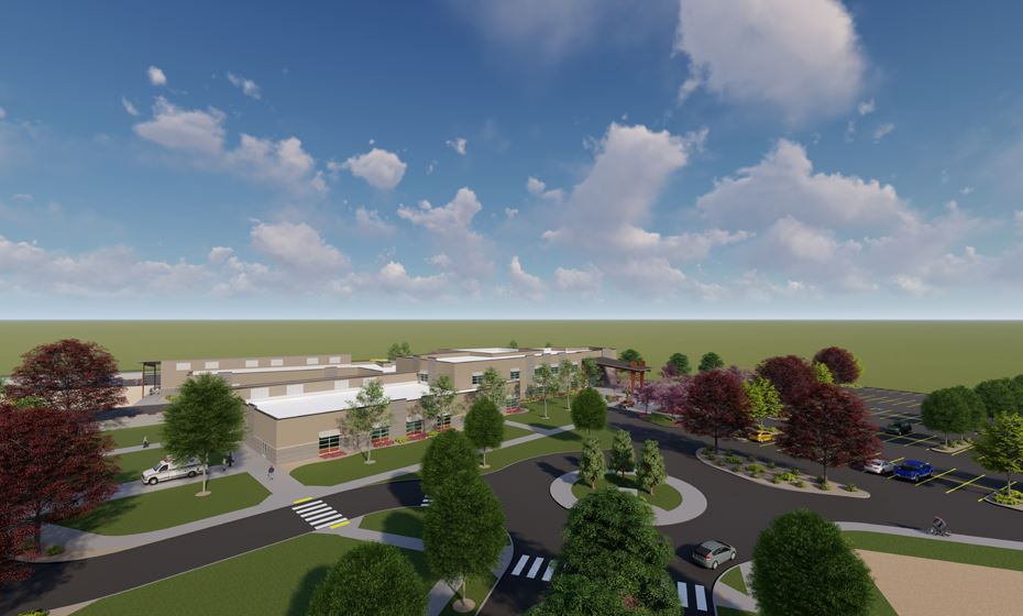 Campus Rendering - LKV Architects